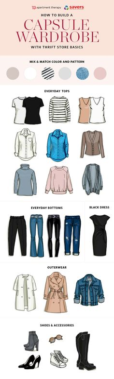 If you need help starting your capsule wardrobe, thrift stores are a great place to begin. Let's walk through the basic steps. #sponsored #saversvvillage #GiveAShirt