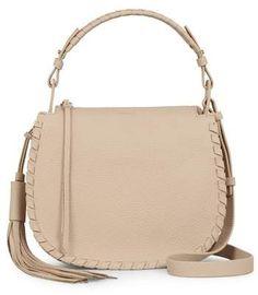 2c243bd4492 AllSaints Mori Leather Crossbody Bag
