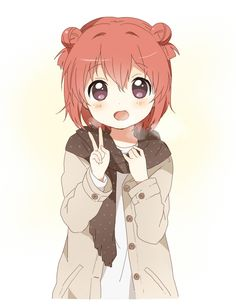"""all of the characters in this anime are so cute, even Akari even though she lacks """"presence"""""""