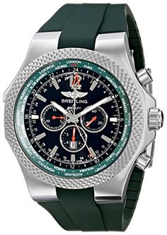 Breitling Men's A47362S4-B919 Bentley GMT Chronograph Wat...