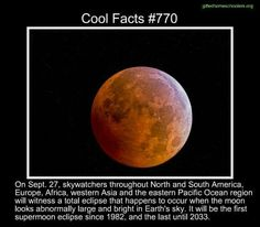 Cool facts #770  http://m.space.com/30567-supermoon-lunar-eclipse-science-explained.html