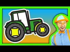 ▶ Tractor Song for Children - YouTube