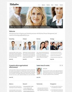 Clean Corporate Website Design