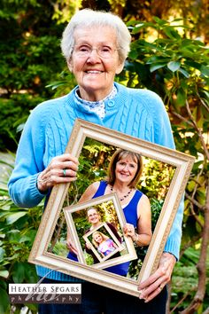 Four Generations Photo: A sweet and novel idea ... and a wonderful and moving tribute to her grandmother.