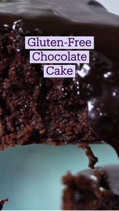Fun Baking Recipes, Sweet Recipes, Dessert Recipes, Cooking Recipes, Gluten Free Sweets, Gluten Free Cakes, Tastemade Recipes, Delicious Desserts, Yummy Food