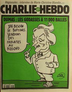 Charlie Hebdo - # 299 - 11 Mars 1998 - Couverture : Willem