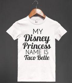 you shall call me taco princess Adayla and I shall rule the world with matt Healy as taco king love u have a nice day