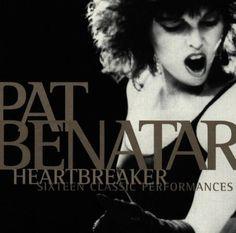 pat benatar album cover   Pat Benatar Heartbreaker