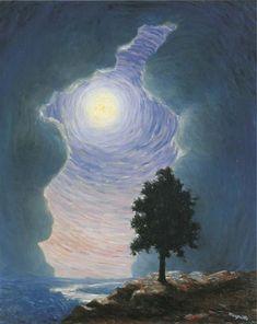 René Magritte - L'Écho, 1944