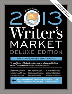 Writer's Market.  Published annually.  Indispensable for getting published.