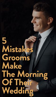 5 Mistakes Grooms Always Make On The Morning Of Their Wedding Wedding Planning Tips, Wedding Tips, Wedding Details, Wedding Planner, Wedding Day, Field Wedding, Wedding Groom, Wedding Vendors, Weddings