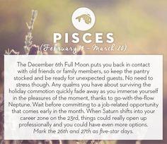 December 2014 #horoscopes #pisces