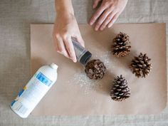 This holiday season, get in the spirit with a Food Network party concept involving lots of cookies that'll satisfy every guest's sweet tooth and spread wintry cheer. Spray Glue, Cookie Swap, Glue Crafts, Menu Cards, Holiday Cookies, Silver Glitter, Food Network Recipes, Holiday Fun, Sprinkles