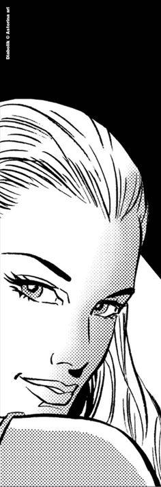 Eva Kant Drawing Sketches, Art Drawings, Pop Art Wallpaper, Comic Styles, Diabolik, Illustrations And Posters, Pulp Fiction, Art Girl, Comic Art