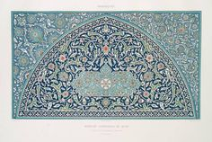 Prisse d'Avens, Islamic Art from the monuments of Cairo since the to the late century, France Via NYPL Islamic World, Islamic Art, Arabesque, Monuments, Art Arabe, Battle Of Karbala, Islamic Patterns, Arabic Design, Textiles
