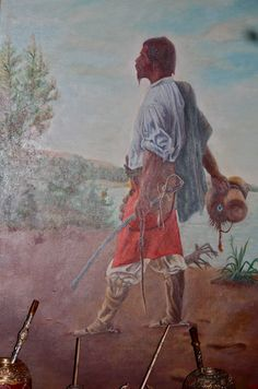 Andrés Cheveste, El Baqueano
