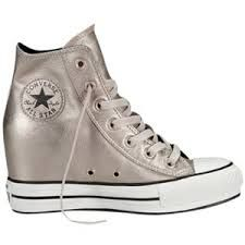Buy Converse Chuck Taylor All Star Leather Hi-Top Trainers With Platform 99f92804a