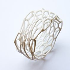 nature-inspired jewelry pieces from NervousSystem Reasonable, trends Jewelry Art, Jewelry Design, Gold Jewelry, Cell Cycle, All White Party, 3d Printed Jewelry, Impression 3d, 3d Prints, Ring Verlobung