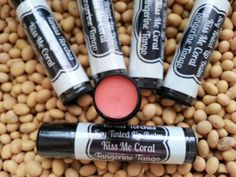 Your place to buy and sell all things handmade Tinted Lip Balm, Lip Tint, Cocoa Butter, Shea Butter, Lip Balm Brands, Soy Products, Sweet Almond Oil, Tango, Light Colors