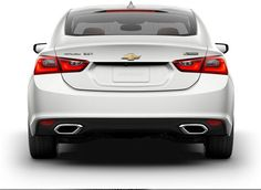 Rear exterior view of the Chevrolet Malibu. Mid Size Sedan, Mid Size Car, Car Chevrolet, Chevrolet Malibu, 2016 Malibu, Exterior, Image, Outdoor Rooms