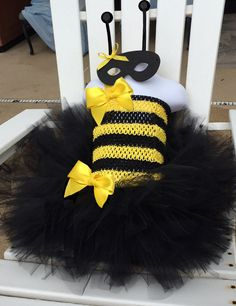 Toddler BEE costume Honey Bee Bumble Bee tutu by SarahsMoon