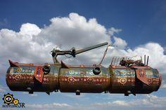 Air Cargo Ship (Ian McQue inspiration)