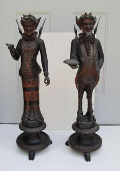 capricious steampunk bookends. THE DEVIL AND HIS BRIDE  collectivator com We are proud of how detailed the head is with this Predator