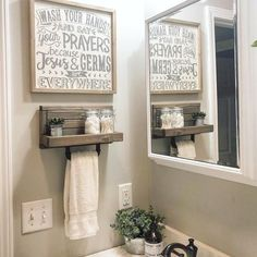 Hand Towel Holder Towel Rack Bathroom Decor Towel Rack Farmhouse Bathroom T Bathroom Towel Hooks, Diy Bathroom Decor, Bathroom Storage, Bathroom Ideas, Bathroom Organization, Bathroom Renovations, Bathroom Cabinets, Bathroom Styling, Bathroom Inspiration