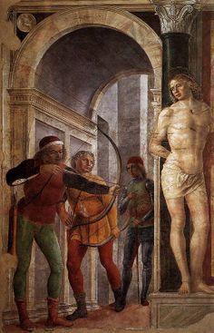 Vincenzo Foppa; Saint Sebastian, c. 1489