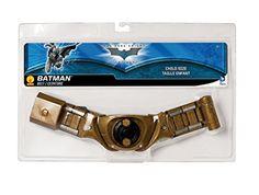 Batman  the  Dark  Knight  rises  Batman  utility  belt  child  size  gold