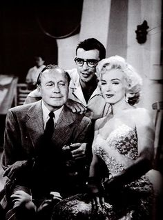The Jack Benny Show; Marilyn's first live television appearance, September 1953.
