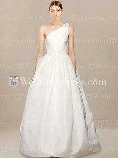 Simple One Shoulder Wedding Dress AU$237.60 | InWeddingDress