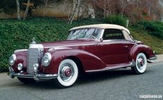 Mercedes SL Cabrio: 1952 Mercedes-Benz 300S Cabriolet >> Available in Cote d'Azur, French Alps and Paris!