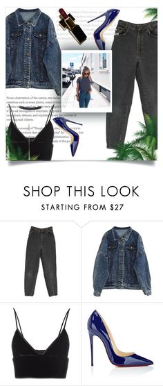 """Patent Leather"" by natalia-k13 ❤ liked on Polyvore featuring T By Alexander Wang, Christian Louboutin and Wet Seal"