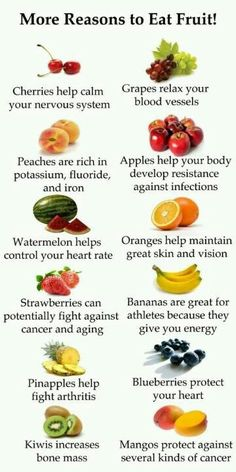 Healthy food is good for you