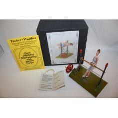 TUCHER WALTHER METAL-TIN CIRCUS ACROBATS RECTURNER T-462 IN BOX LIMITED EDITION VERY RARE 500
