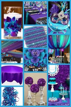 My inspiration collage for Lashunda - Wedding Colors Wedding Reception Decorations, Wedding Themes, Wedding Centerpieces, Diy Wedding, Wedding Colors, Rustic Wedding, Dream Wedding, Purple Wedding Receptions, Wedding Ideas