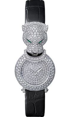 Cartier Watches - Captive de Cartier Panthere - Style No: Cute Watches, Amazing Watches, Cartier Panthere, Jewelry Design, Designer Jewelry, Luxury Branding, Perfume Bottles, White Gold, Cartier Watches