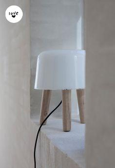 milk lamp via bodieandfou