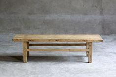 ANTIQUE ELM TABLE | JuxtaPosition