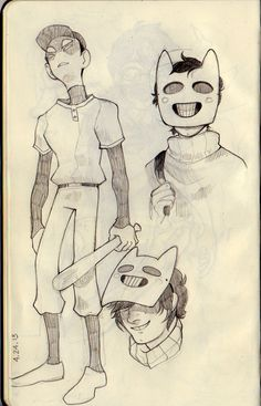 Some really kicking OFF fanart of The Batter and Zacharie  I guess is safe to put it on my homestuck board because I know lots of homestuck fans are into OFF but I don't really have a place for wonderful fan art...
