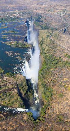 #Victoria_Falls, #Zambia