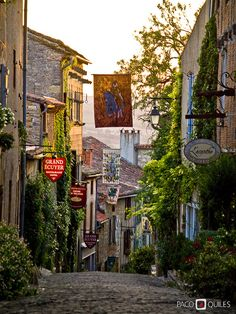 Cordes Sur Ciel in southern France - Grand Rue Raimon VII | Flickr - Photo Sharing!