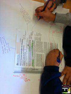 Teaching in Room 6: Text-Based Opinion Posters and prep for opinion writing with evidence