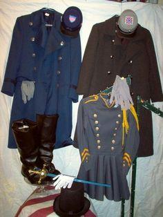 civil war clothes - Google Search