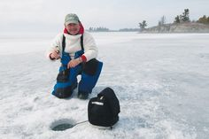 Why you should stay off the bottom when ice fishing