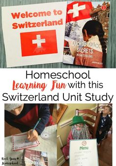 Discover how this Switzerland unit study can help you add learning fun to your homeschool. CASE OF ADVENTURE unit studies are filled with hands-on activities and resources. Don't miss a freebie plus chance to enter giveaway! Teaching World Geography, Geography For Kids, Teaching History, Teaching Kids, Homeschool Curriculum Reviews, Homeschooling Resources, Baby Learning, Unit Studies, Play To Learn
