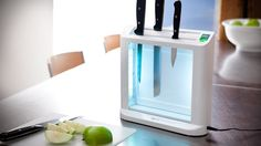 UV Sanitizing Knife Holder.