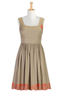 "50S Inspired Dresses, Boutique Summer Dresses ""Shop women's fashion dresses   Womens designer dresses   Women's Long Dresses     eShakti.com"