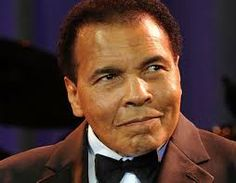 Muhammad Ali: Started out as Cassius Clay!  Age: 74 /  Born: 1/17/1942 ~ Died: 6/3/2016  /  He was married 4 times & had 9 children!  He was a Boxer!  God Bless him & may he R.I.P.